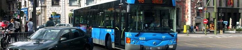 Indemnización accidente Transporte Público