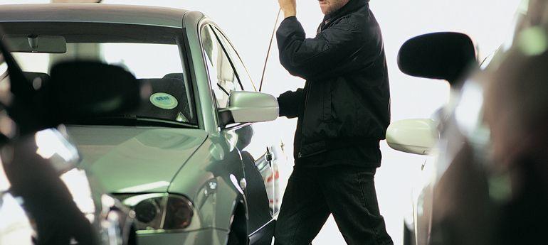 accidentes de tráfico con vehículos robados