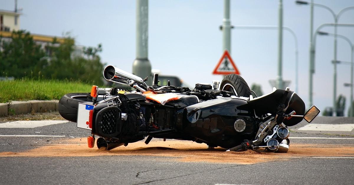Fallecido en accidente de moto