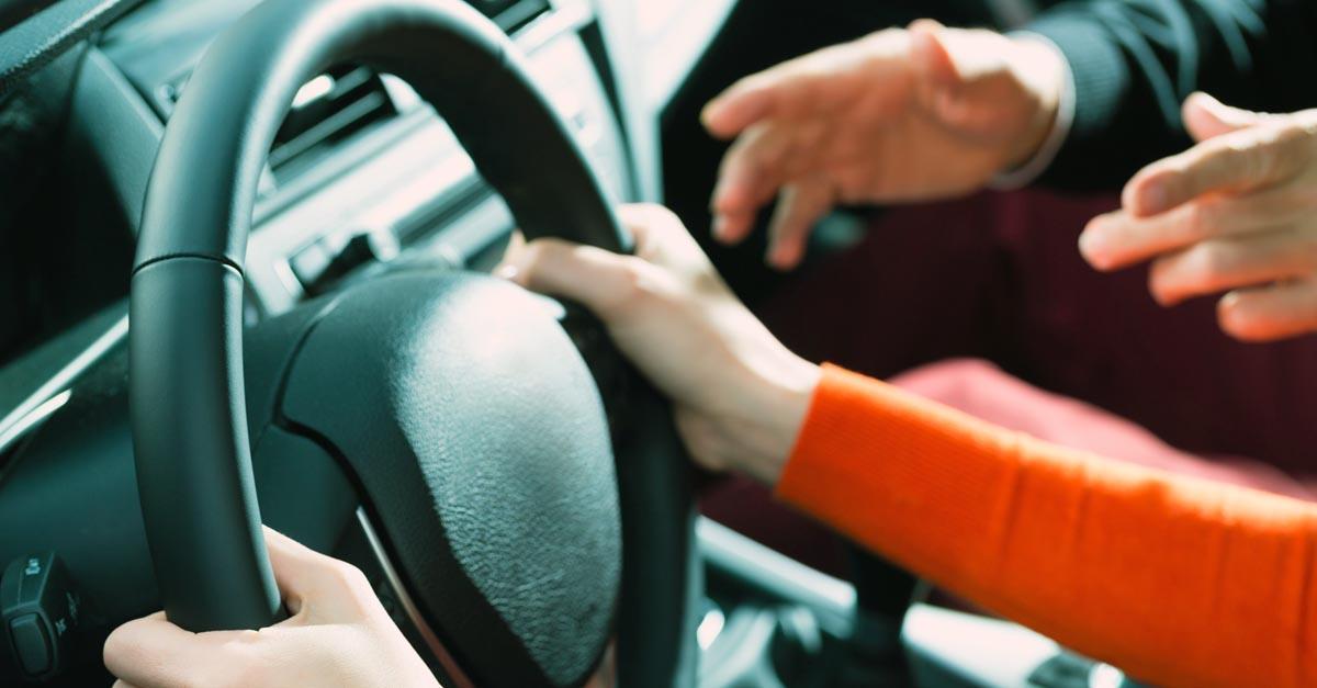 Indemnización por accidente en autoescuela