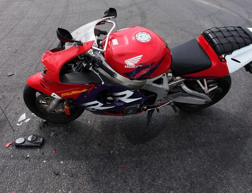 Muerte por accidente de moto